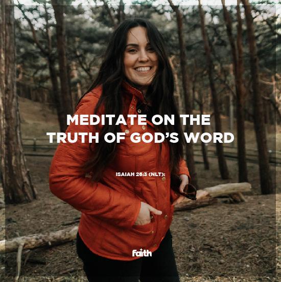 Feed Your Faith, Not Fear