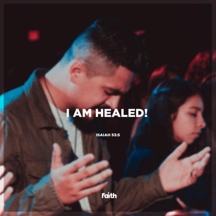 I Am Healed!