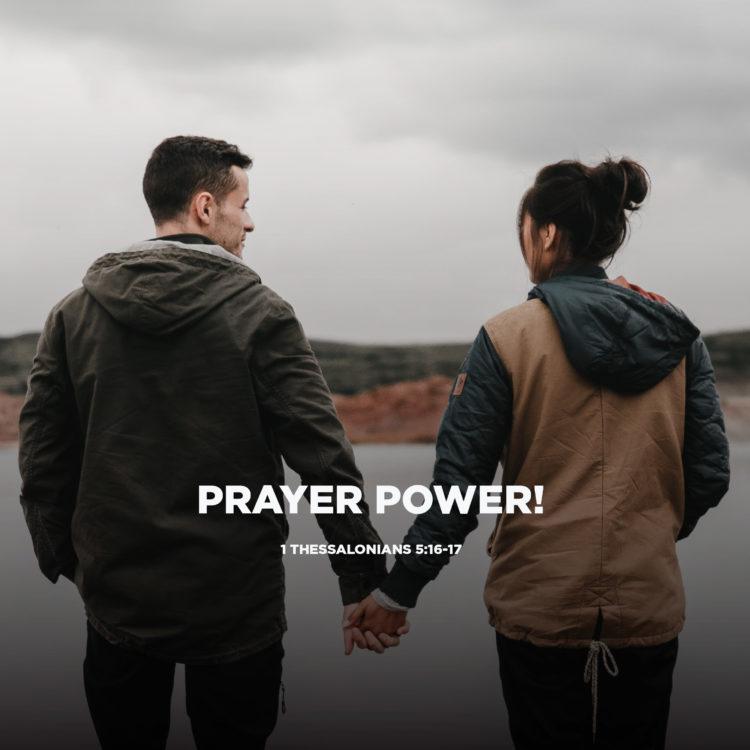 Prayer Power!