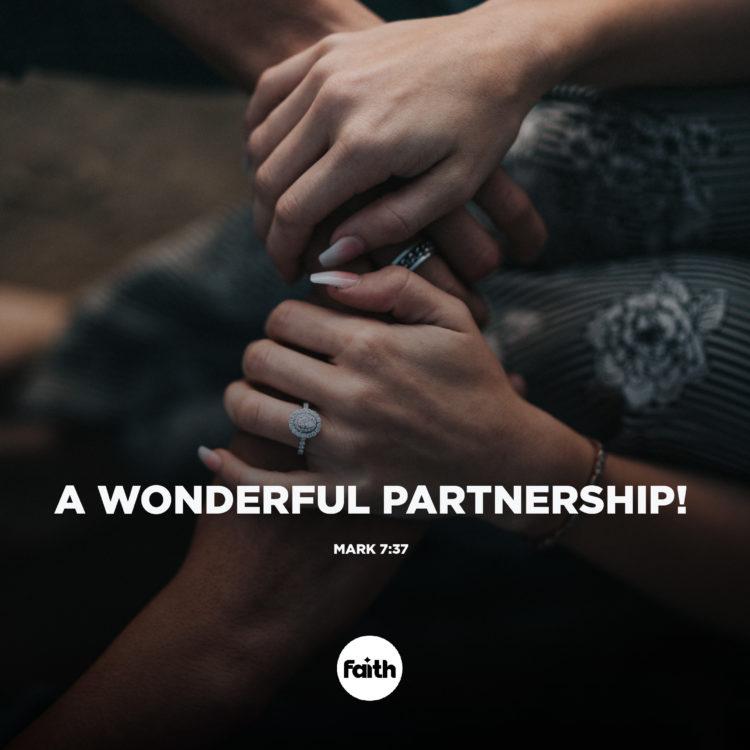 A Wonderful Partnership!