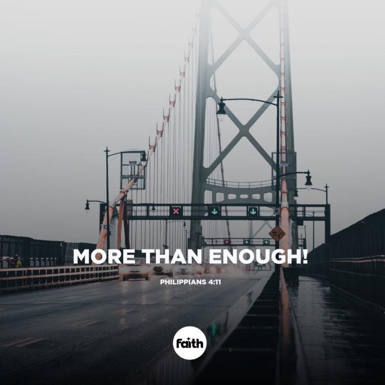More than Enough!