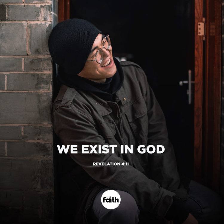 Exist In God to Do His Will