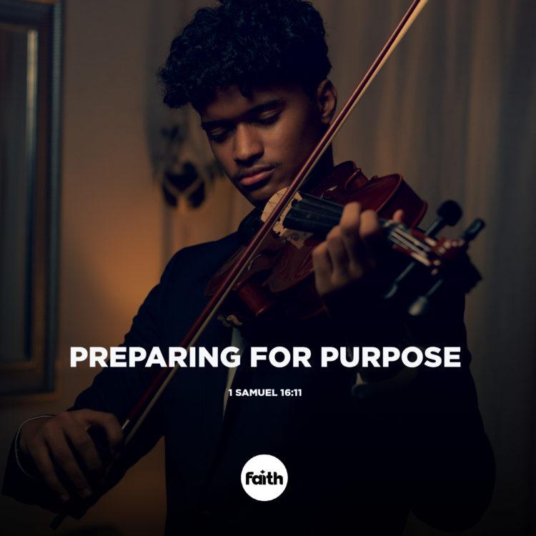 Preparing for Purpose