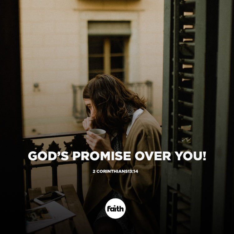 God's Promise Over You!